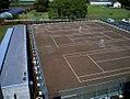 Tennis court of Inba Meisei High School.jpg