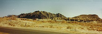 Terlingua, Texas - Another panoramic view
