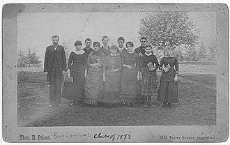 University of Washington - Grammar, Class of 1883