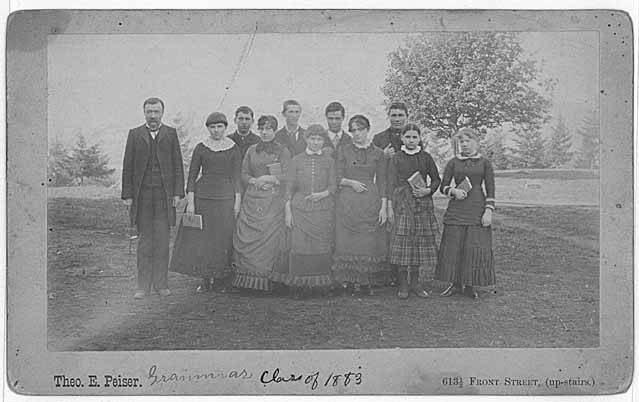 Territorial University grammar class group portrait, Seattle, 1883 (PEISER 117).jpeg