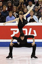 Tessa Virtue and Scott Moir at 2009 World Championships (3).jpg
