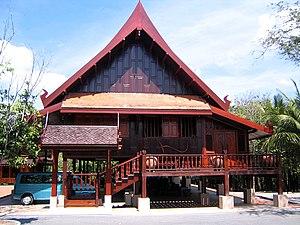Trat - Image: Thai Traditional House On Stilts Trat Thailand