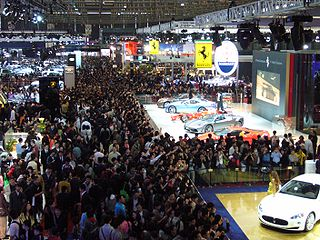 Chinese biennial automobile show