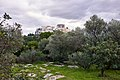 The Acropolis of Athens on a rainy day. View from the Pnyx.jpg