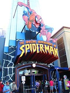 The Amazing Adventures of Spider-Man theme park ride