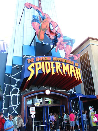 The Amazing Adventures of Spider-Man - Image: The Amazing Adventures of Spider Man entrance 1