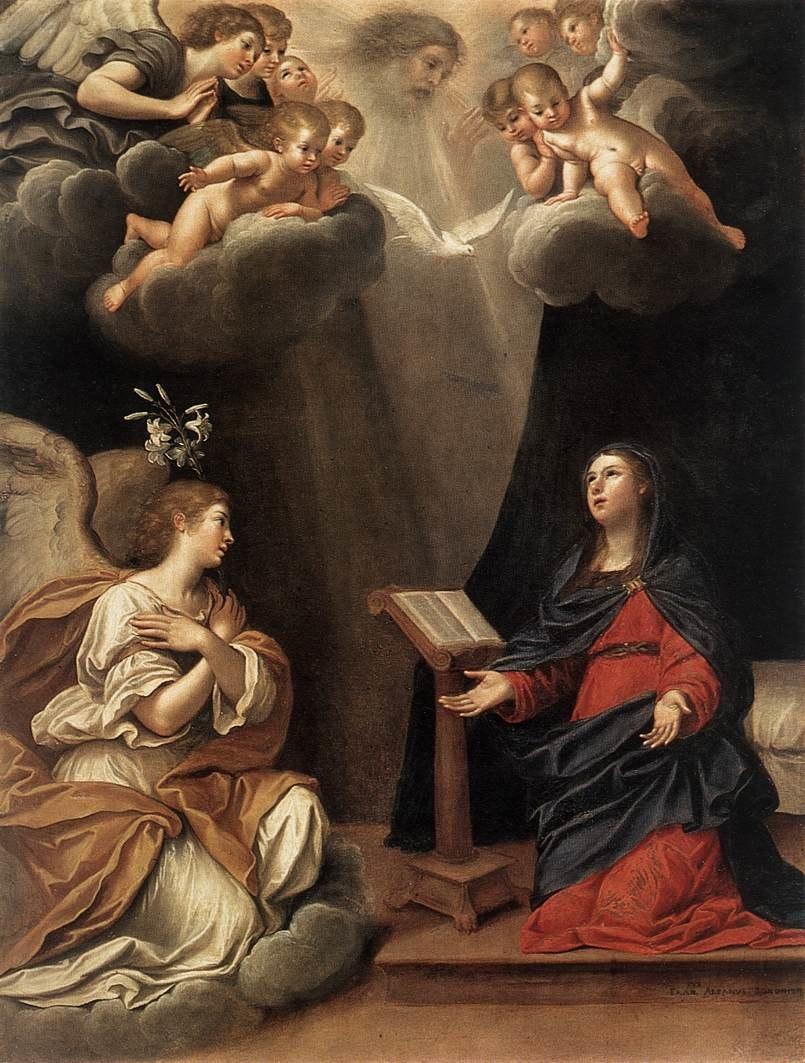 The Annunciation, by Francesco Albani