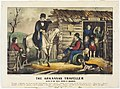 The Arkansas Traveler. Scene in the Back Woods of Arkansas. Currier and Ives, 1870.jpg