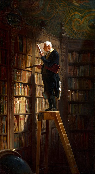 The Bookworm (painting) - The Milwaukee version