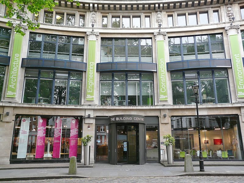 The Building Centre, Store Street, London