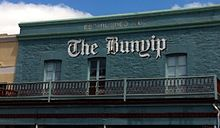 The Bunyip Newspaper building