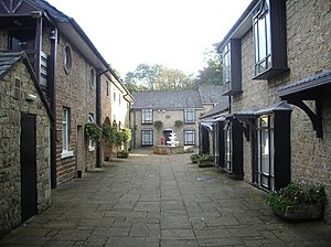 Listed buildings in Clayton-le-Moors - Image: The Courtyard. Dunkenhalgh Hotel geograph.org.uk 999273