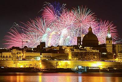 The Dome of the Carmelite Church in Valletta, Malta.jpg