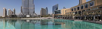 The Dubai Fountain - Image: The Dubai Fountain 02