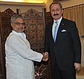 The Foreign Trade Minister of Turkey, Mr. Zafer Caglayan calls on the Union Minister for Road Transport and Highways, Dr. C.P. Joshi, in New Delhi on April 19, 2011.jpg