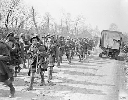 Troops of the South African Scottish regiment in France, 1918 The German Spring Offensive, March-july 1918 Q8594.jpg