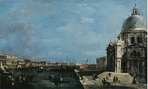 The Grand Canal, Venice c1760 Francesco Guardi
