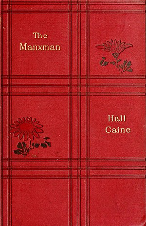 The Manxman (novel) - First edition cover