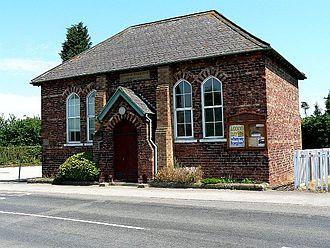 Skipwith - Wesleyan chapel of 1876, now the Methodist church