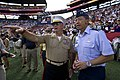 The NFL pays tribute to military service members during the 2012 Pro Bowl 120129-F-MQ656-438.jpg