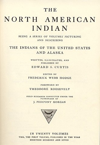 Edward S. Curtis - The North American Indian, volume 1, 1907