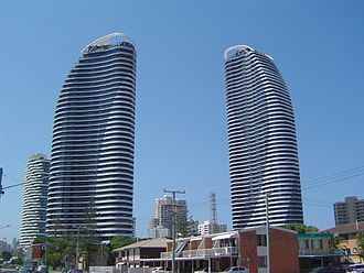 Broadbeach, Queensland - The Oracle, 2013