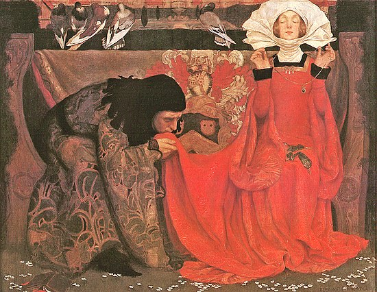 Olio di Eleanor Fortescue-Brickdale, 1899