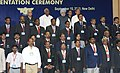 The Prime Minister, Dr. Manmohan Singh with the Prime Minister's Shram Awardees for the years 2005, 2006 and 2007, at a function, in New Delhi on September 15, 2010.jpg