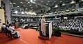 The Prime Minister, Shri Narendra Modi addressing the gathering on the occasion of the Platinum Jubilee of the Daily Thanthi, in Chennai on November 06, 2017.jpg