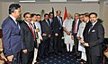 The Prime Minister, Shri Narendra Modi meeting the presidents of leading Chambers of Commerce and Industry in Bangladesh, in Dhaka on June 07, 2015 (2).jpg