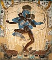 The Tantric image from Cave 465, Dunhuang. Yuan dynasty. (detail).jpg