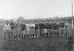 "Hamilton Tiger-Cats - The ""Tigers"" of Hamilton, Ontario c. 1906."