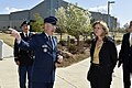 The USA's Secretary of the Air Force visits Cheyenne Mountain, 2015-05-27, 150415-VT441-016 (18204926855).jpg