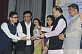 The Union Minister for Finance and Corporate Affairs, Shri Arun Jaitley giving away the National Entrepreneurship Awards 2017, on the occasion of the 3rd Foundation Day of MSDE, in New Delhi (1).jpg