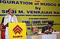 The Union Minister for Urban Development, Housing and Urban Poverty Alleviation and Parliamentary Affairs, Shri M. Venkaiah Naidu addressing at the inauguration of the HUDCO Bhawan, at Salt Lake.jpg