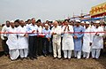 The Union Power Minister, Shri Sushilkumar Shinde inaugurated the site leveling work of 1320 MW Solapur Super Thermal Power Project, in Solapur, Maharashtra on March 14, 2010.jpg