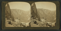The Valley West from Union Point, - Sentinel Rocks (left) El Capitan (right)and Cathedral Rocks (centre) Yosemite, Cal. U.S.A, by H.C. White Co..png