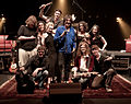 The cast of The Rock Show in Nowra, 2009.jpg