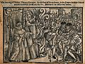 The death of Thomas Cranmer at the stake, burned for heresy Wellcome V0041610.jpg