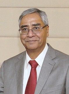Sher Bahadur Deuba Prime Minister of Nepal since 2021