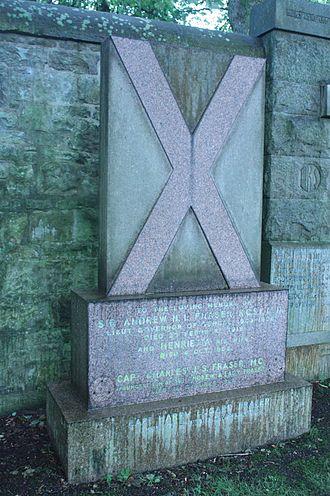 Andrew Henderson Leith Fraser - The grave of Sir Andrew Fraser, Dean Cemetery