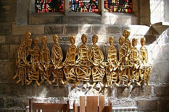 Frank Roper - The last supper, St.Michael-le-Grand church, York (1968)