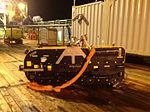 The recovered towfish on the deck of Havila Harmony; source ATSB, photo by John Bethea.jpg