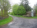 The road to Rankinston Farm - geograph.org.uk - 183456.jpg