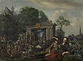 Theatrical Performance in the Open Air by Matthijs Naiveu Rijksmuseum Amsterdam SK-A-1323.jpg