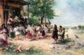 Theodor Aman - Round-dance at Aninoasa, 1890.jpg