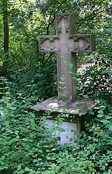 Ehrengrab von Anton Friedrich Justus Thibaut, in der so genannten Professorenreihe der (Abt. D), auf dem Heidelberger Bergfriedhof gelegen (Quelle: Wikimedia)