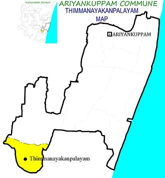 Thimmanayakanpalayam - Thimmanayakanpalayam Village in Ariyankuppam Commune