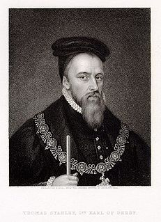Thomas Stanley, 1st Earl of Derby English nobleman, titular King of Mann and stepfather to King Henry VII of England