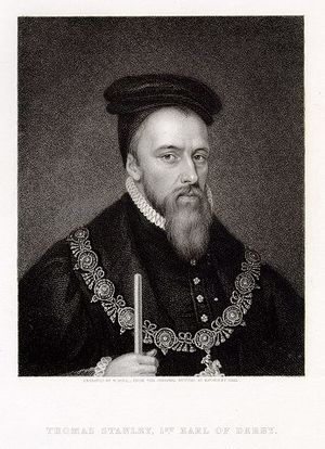 Earl of Derby - Thomas Stanley, 1st Earl of Derby